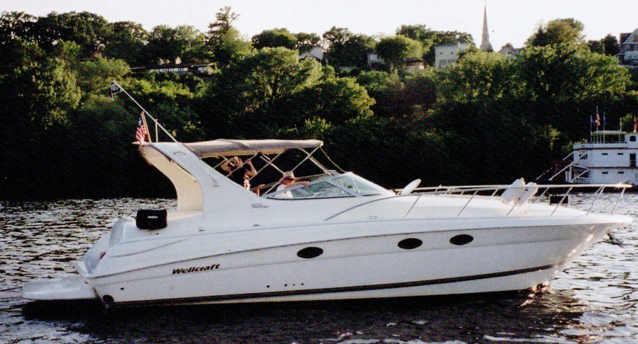 2002 Wellcraft 3700 Martinique Twin 8.1 HO 840 HP (Combined) With V-Drives